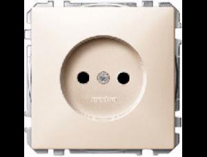 MTN2301-4044 SD Беж Розетка 1-ая с/з (термопласт) безвинт.зажим