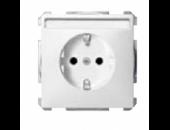 MTN2302-4044 Механизм розетки з/к с/ш с полем для над.