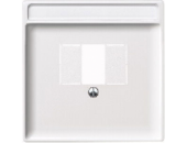 MTN297819 SD Бел Накладка аудиорозетки 2-ой (мех 46701х) (термопласт)