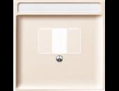 MTN297844 SD Беж Накладка для TAE-розетки, моно-/стерео аудио розетки (термопласт)