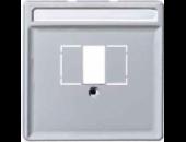 MTN297860 SD Алюминий Накладка аудиорозетки 2-ой (мех М46701х)
