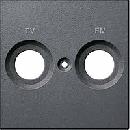 MTN299514 SM Антрацит Центральная плата с маркировкой FM и TV