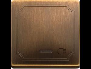 MTN391943 SD Античная латунь Заглушка