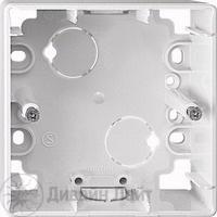 MTN4014-1219 Бел Коробка для открыт монтажа, 1 пост