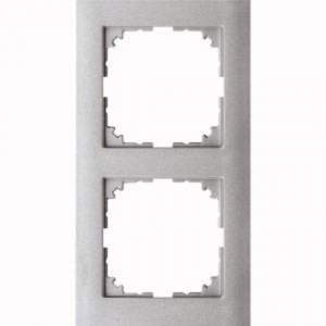 MTN4020-3660 M-Pure 2-постовая рамка, цвет алюминия