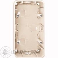 MTN4024-1244 Беж Коробка для открыт монтажа, 2 поста