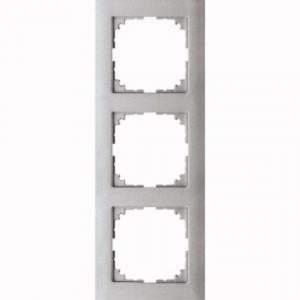 MTN4030-3660 M-Pure 3-постовая рамка, цвет алюминия