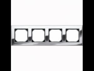 MTN403439 M-Elegance Хром Рамка 4-я