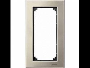MTN403805 M-Elegance Титан Рамка 2-я без перегородки