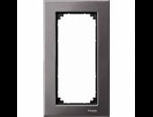 MTN403814 M-Elegance Серый родий Рамка 2-я без перегородки