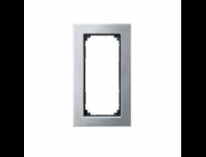 MTN403860 M-Elegance Платина серебро Рамка 2-я без перегородки