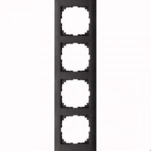 MTN4040-3614 M-Pure 4-постовая рамка, антрацит