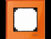 MTN404102 M-Elegance Стекло Оранжевый кальцит Рамка 1-я