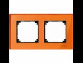 MTN404202 M-Elegance Стекло Оранжевый кальцит Рамка 2-я