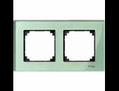 MTN404204 M-Elegance Стекло Зеленое кальцит Рамка 2-я
