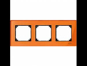 MTN404302 M-Elegance Стекло Оранжевый кальцит Рамка 3-я