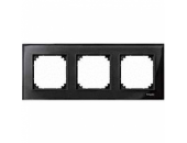 MTN404303 M-Elegance Стекло Черное кальцит Рамка 3-я