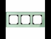 MTN404304 M-Elegance Стекло Зеленое кальцит Рамка 3-я