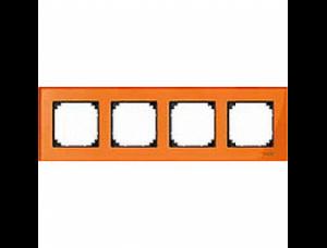 MTN404402 M-Elegance Стекло Оранжевый кальцит Рамка 4-я
