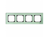 MTN404404 M-Elegance Стекло Зеленое кальцит Рамка 4-я