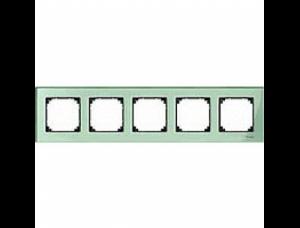 MTN404504 M-Elegance Стекло Зеленое кальцит Рамка 5-я