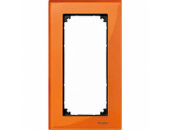 MTN404802 M-Elegance Стекло Оранжевый кальцит Рамка 2-я без перегородки