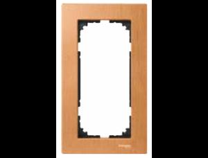 MTN4058-3470 (MTN405870) M-Elegance Бук Рамка 2-я без перегородки