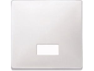 MTN411819 SD Бел Клавиша 1-ая с окошком без линзы (термопласт)