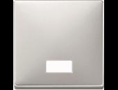 MTN411846 SD Сталь Клавиша 1-ая с окошком, без линзы