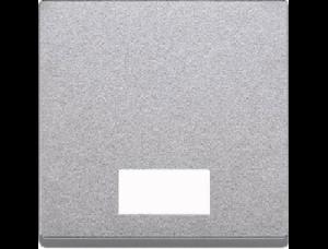 MTN433860 SM Алюминий Клавиша 1-ая с окошком, без линзы