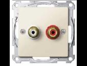MTN4350-0319 Механизм аудиорозетки
