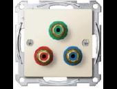 MTN4353-0344 Мех розетки компонентного сигнала