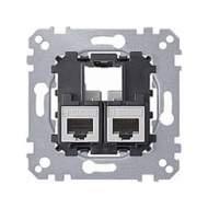 MTN4575-0002 Мех Коннектор 2xRJ45 CAT5E UTP