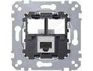 MTN4576-0021 Мех Actassi Розетка телекоммуникационная кат.6A STP 1хRJ45