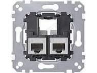 MTN4576-0022 МЕХ Actassi Розетка телекоммуникационная кат.6A STP 2хRJ45