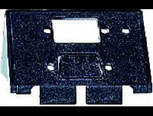 MTN464360 SD Алюминий Накладка аудиорозетки 1-ая с полем для надписи, наклонная