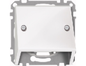 MTN464919 SM Бел глянц Накладка наклонная для телекоммуникационной техники