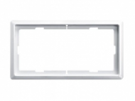 MTN481819 SD Artec Белый Рамка 2 поста без перегородки (термопласт)