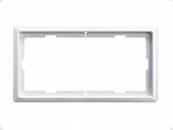 MTN481919 SD Artec Белый Рамка 1,5 поста без перегородки (термопласт)