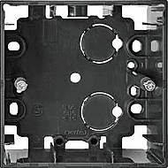 MTN510514 Мех Антрацит Коробка для открытого монтажа 1-я