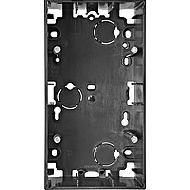 MTN510614 Мех Антрацит Коробка для открытого монтажа 2-я