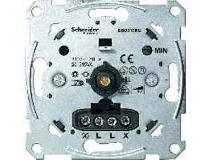 MTN5136-0000 Мех Светорегулятор поворотный 20-315ВА для л/н и эл тр-ров