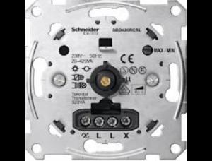 MTN5138-0000 Мех Светорегулятор поворотный универсальный 20-420ВТ