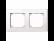 MTN515219 SM M-Plan Белый глянц Рамка 2-ая