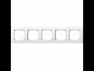 MTN515519 SM M-Plan Белый глянц Рамка 5-ая