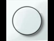 MTN5250-0319 SM Бел глянц Накладка светорегулятора поворотного