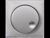MTN5250-0460 SM Алюминий Накладка светорегулятора поворотного