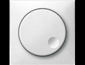 MTN5250-4019 SD Бел Накладка светорегулятора поворотного (термопласт)