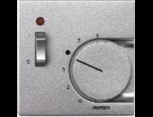 MTN536160 SM Алюминий Накладка термостата комнатного (Мех.536302,536304)