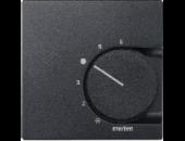 MTN536214 SM Антрацит Накладка термостата комнатного (Мех.536400,536401)